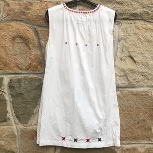 Dresses - Cotton tunic with embroiderey